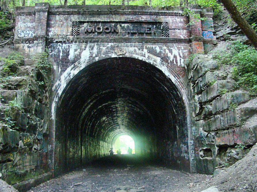 Moonville Tunnel possible Shadow People