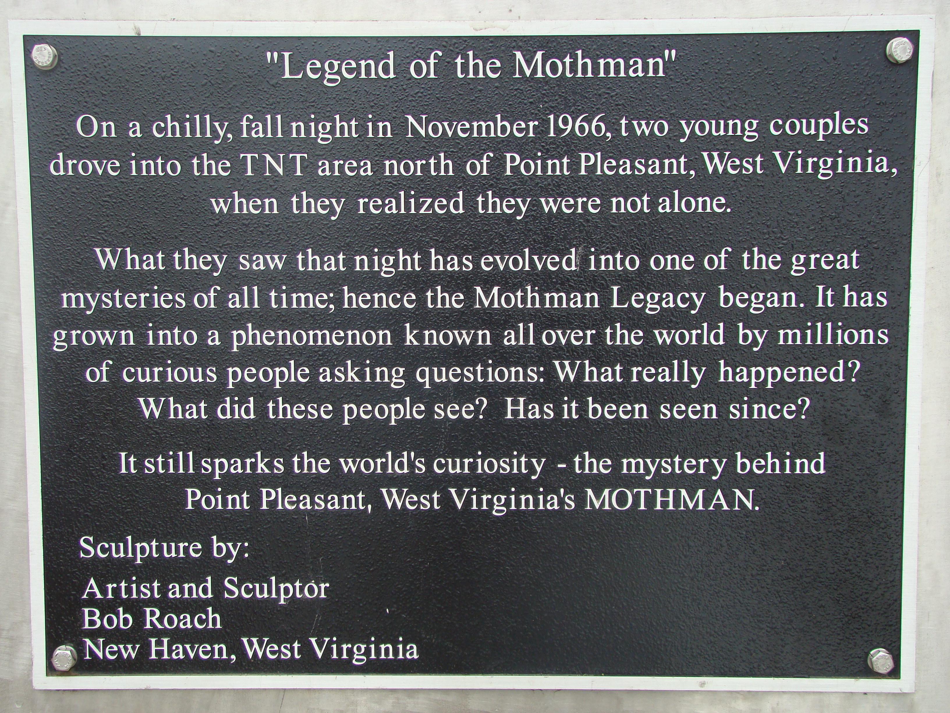 The legend of 'Mothman' still draws visitors to W.Va. town ...