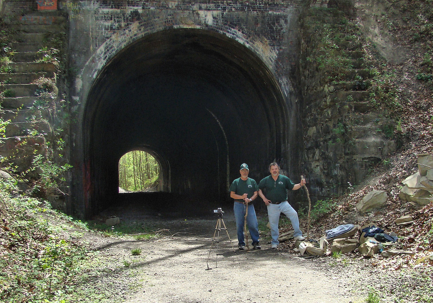 Moonville Tunnel – New Pictures and Video 2010 | TOGHS