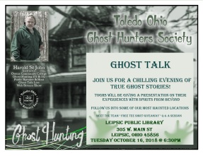 Leipsic Library flyer