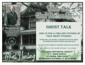 Sylvania Ghost Talk 2018