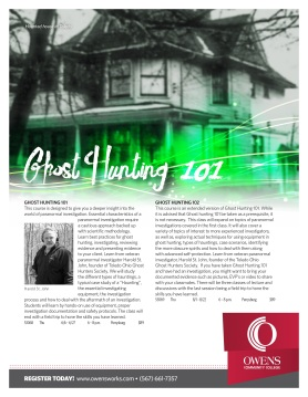 Ghost Hunting 101 June